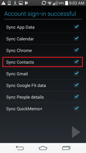 how to add phone contacts to gmail