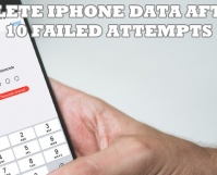 Delete iPhone Data After 10 Failed Attempts