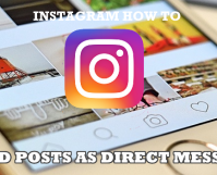 How to Send Post as Direct Message on Instagram