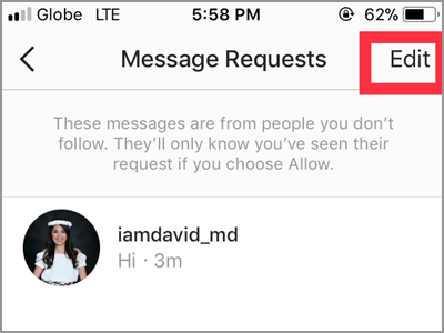 How to Respond to Message Requests on Instagram Direct