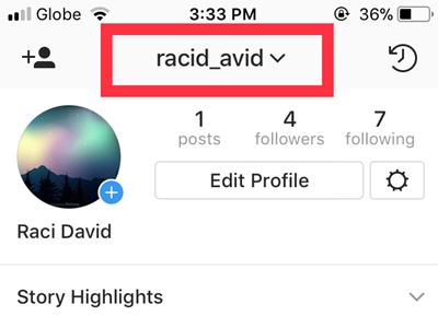 Instagram Profile Edit Profile Change Username Success
