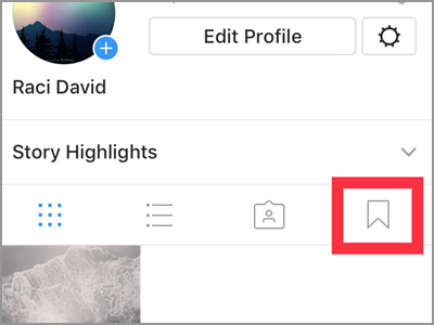 Instagram Profile Ribbon