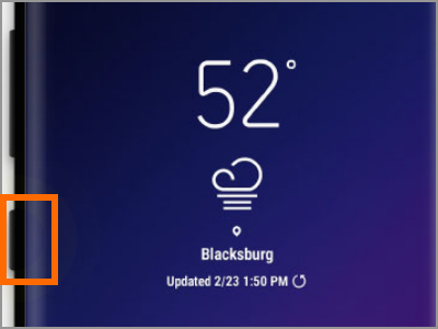 Samsung Galaxy S9 Bixby Button