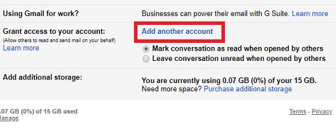 X Setup Mail Delegation On Gmail