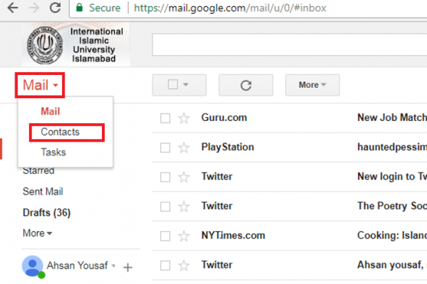 simplest way to create a gmail group mailing list