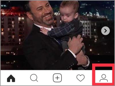 iPhone Home Safari Instagram Profile
