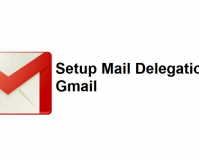 Setup Mail Delegation On Gmail