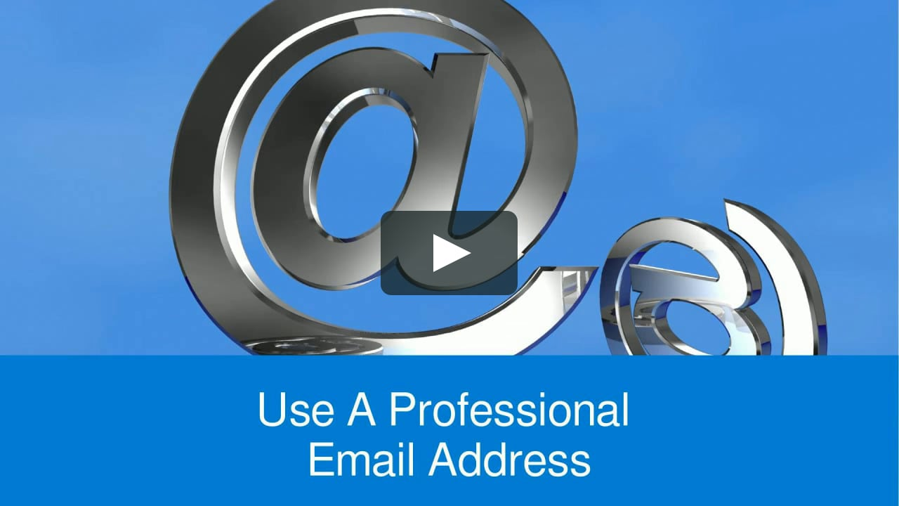 how to create a professional gmail address