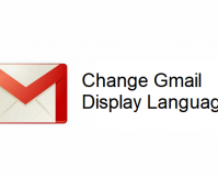 Change Gmail Display Language