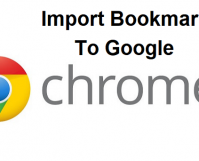 Import Bookmarks To Google Chrome