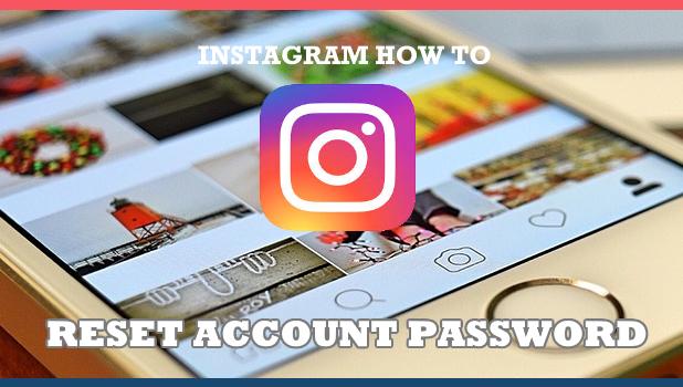 reset instagram password using phone number