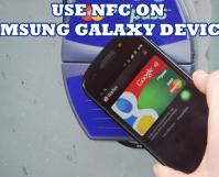Use NFC on Samsung