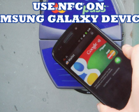 Use NFC on Samsung