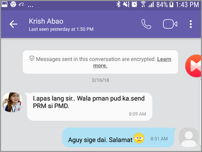 Viber Search Button Enter Contact 4-digit Message Shown