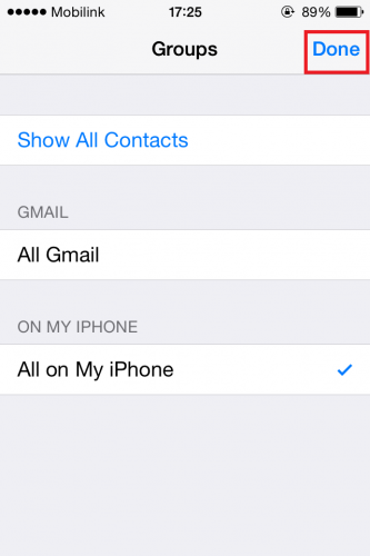 how to delete phone contacts on iphone