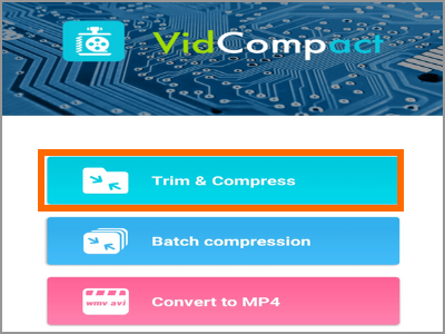 Android Video Converter Trim and Compress