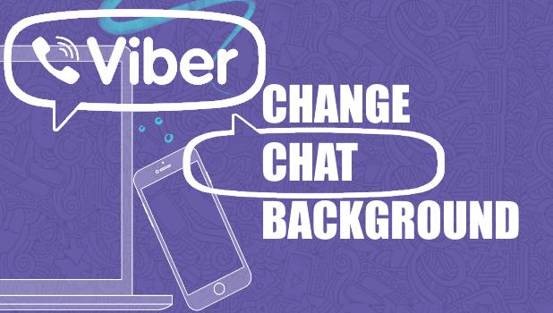 Change Viber Chat Background