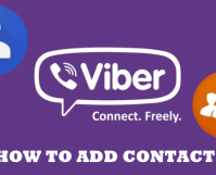 How to Add Viber Contacts