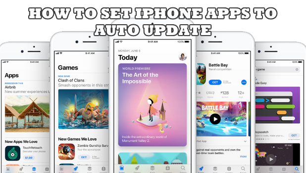 IPHONE Apps to Auto Update