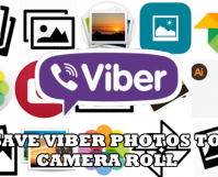 Save Viber Photos to Camera Roll