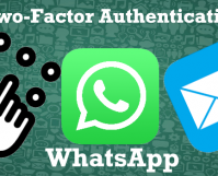 WhatsApp Use 2 Factor Authentication