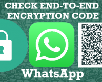WhatsApp cHECK Chat End-to-end encryptions