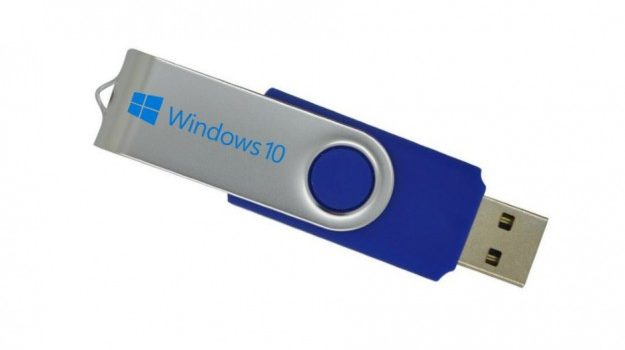 make a bootable windows 10 usb stick