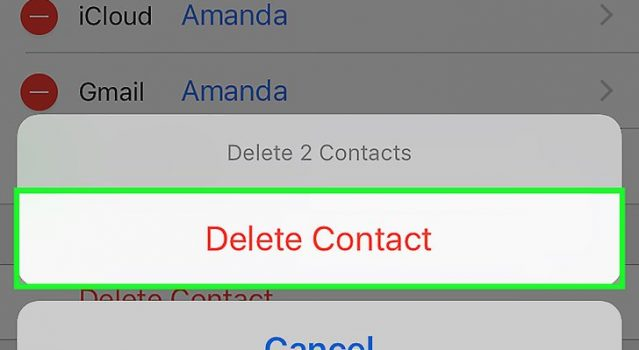 how to contact iphone