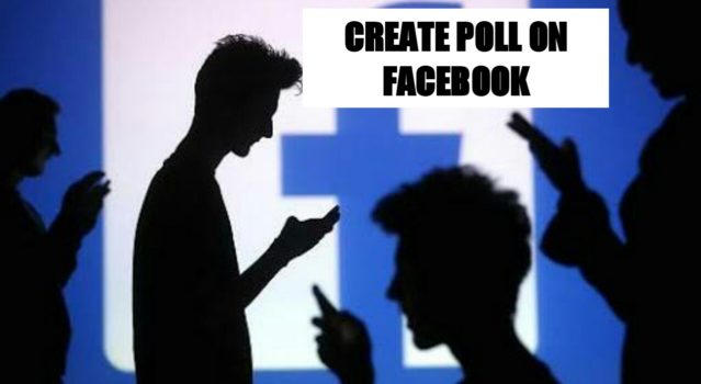 Create a poll on Facebook