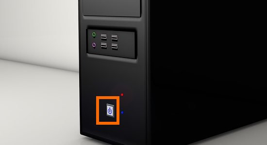 CPU Power button