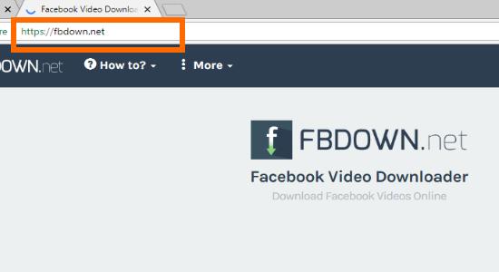 FBDown.Net Site