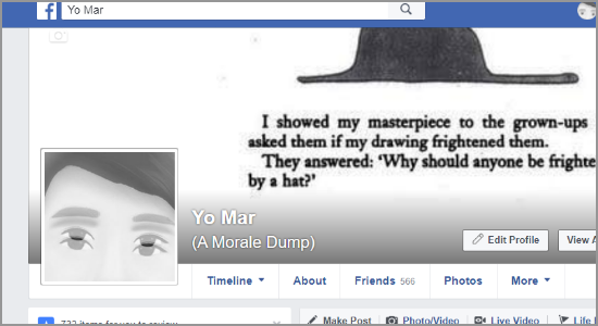 Facebook Edit Profile