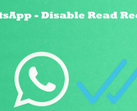 WhatsApp Disable Read Receipt