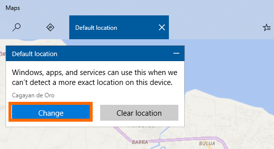 Windows 10 Start Menu Settings Location Set Default Button Change