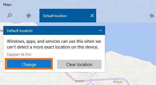 Windows 10 Start Menu Settings Location Set Default Button Change