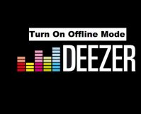 Turn On Deezer Offline Mode