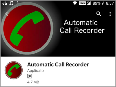 playstore auto call recorder