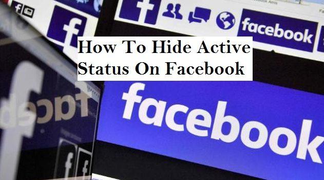 Hide Facebook Active Status