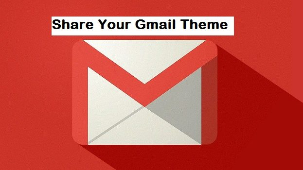 share your Gmail theme