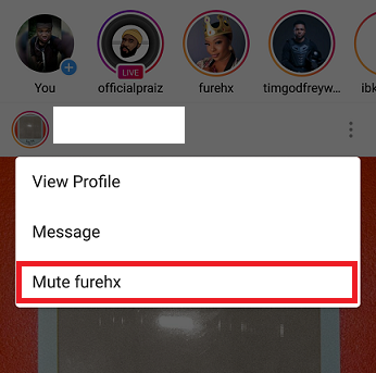 How To Mute Instagram Stories