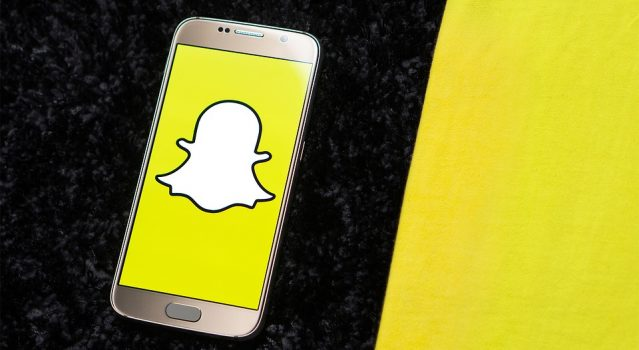 Smartphone Social Media Snapchat Phone Icon