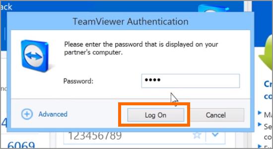 TeamViewer PAssword