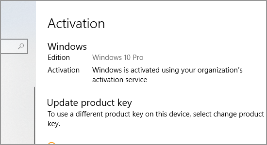 Windows Product Key Next Activation