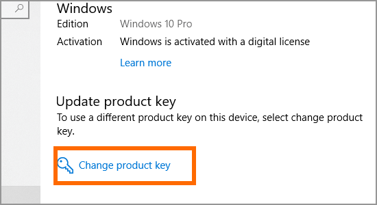 Windows Update and Security Activation Change Product Key