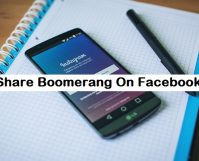 share boomerang on instagram