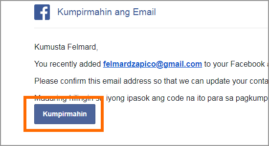 confirm email at gmail