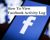 View Facebook Activity log on Android