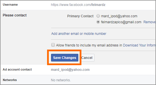 How to Change or Add Email on Facebook