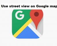 use street view on Google map