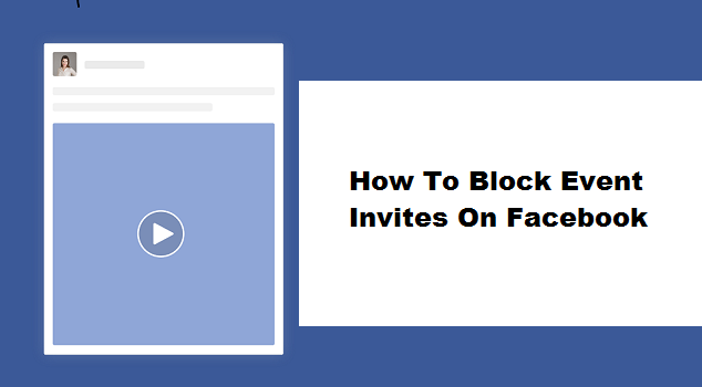 how to block event invites on facebook